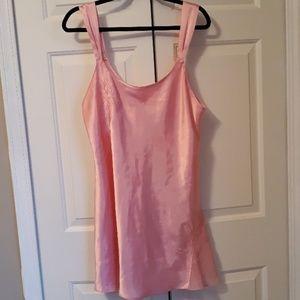 Other - Pink silky nighty lingerie size 1X / 20 teddy pj's
